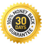 30 days 100% money back guarantee