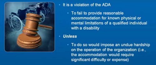 Americans with Disabilities Act Title III